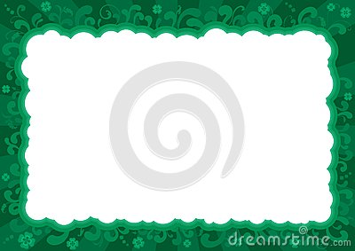 Border  for St. Patricks Day