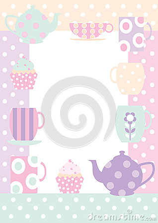 Tea time border