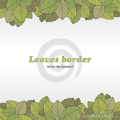 Borders of foliage