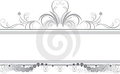 Borders with ornament