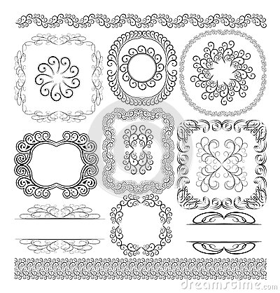 Borders and ornaments