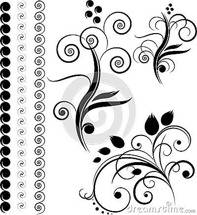 Bordi, elementi di disegno