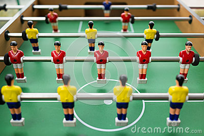 Bordlägga fotboll