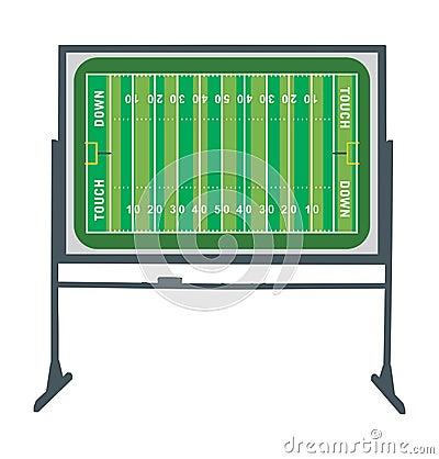 Bordo del campo di football americano