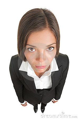 Free Bored Sad Businesswoman Isolated Royalty Free Stock Photo - 13934695