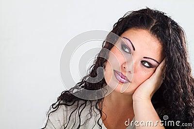 Bored woman