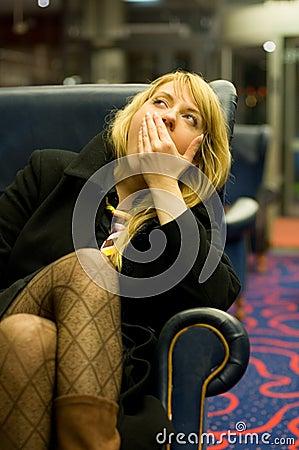Bored Woman 2
