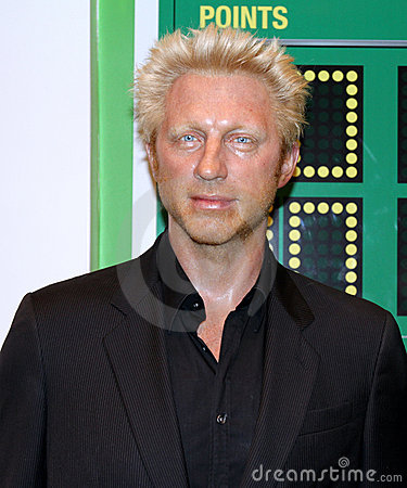 Boris Becker at Madame Tussaud s Editorial Stock Photo