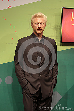 Boris Becker Editorial Stock Photo
