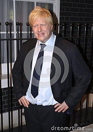 Boris Johnson at Madame Tussaud s Editorial Photography