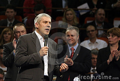 Boris tadic Editorial Stock Image