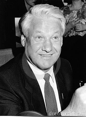 Boris Yeltsin Editorial Stock Image
