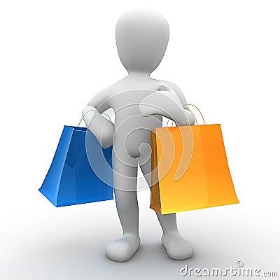 Free Borko Shopping Royalty Free Stock Photos - 15330158