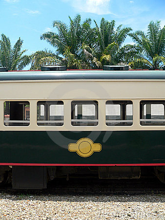 Borneo. Train Carriage (made in Britain)