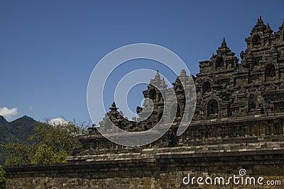 Borobodur - buddhist temple.