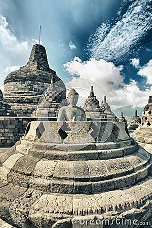 Free Borobudur Royalty Free Stock Photography - 18956737