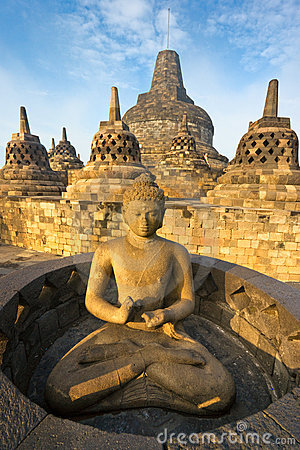 Borobudur Indonesia Java świątynia Yogyakarta