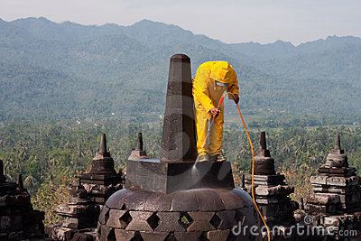 Borobudur Rescue High Pressure Cleaning