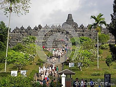 Borobudur Temple Editorial Stock Photo
