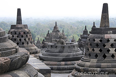 Borobudur temple architecture indonesia