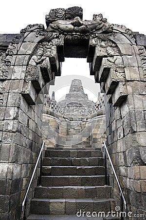 Borobudur temple architecture java indonesia