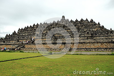 Borobudur temple Editorial Photo