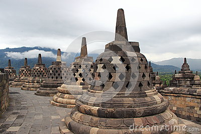 borobudur temple Editorial Image