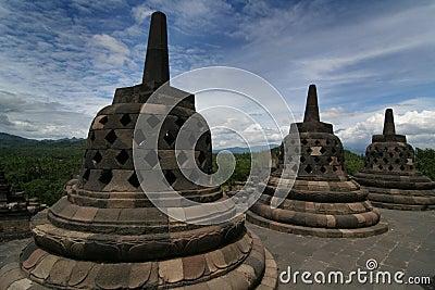 Borobudur temple scenic