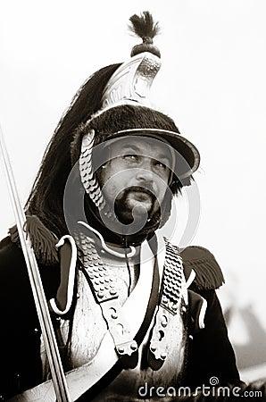Borodino 2012 historical reenactment Editorial Photo