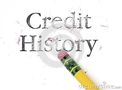Borradura de historia de crédito