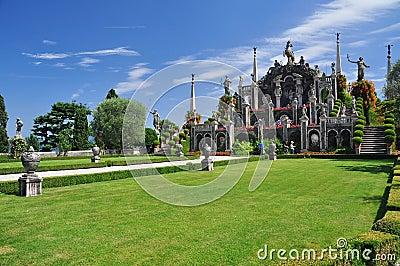 Borromeo botanical gardens, Isola bella
