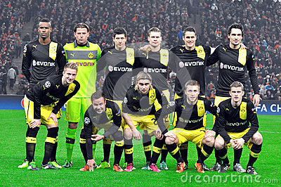 Borussia Dortmund Editorial Stock Photo