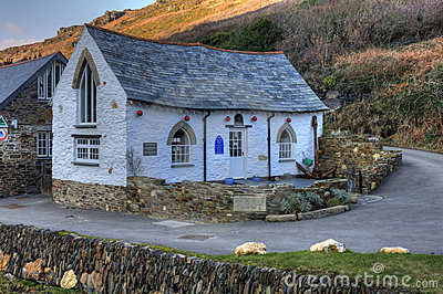 Boscastle Harbour Light