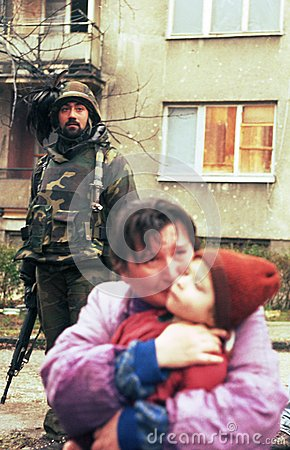 BOSNIAN CIVIL WAR Editorial Image