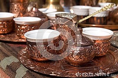 Bosnian turkish coffee set