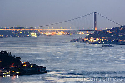 Bosphorus bridge, Istanbul-Turkey