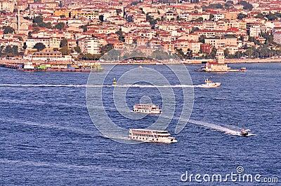 Bosphorus and Maiden Tower
