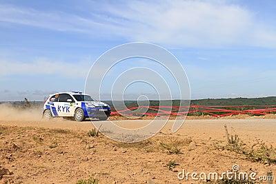 Bosphorus Rally 2011 ERC Editorial Stock Photo