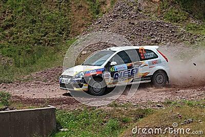Bosphorus Rally 2011 ERC Editorial Stock Image