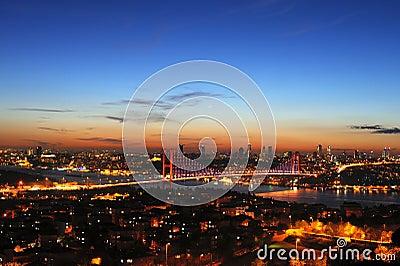 Bosphorus at Sunset