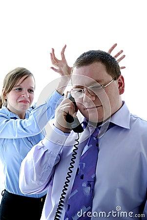 Boss & secretary