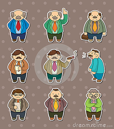 Boss stickers