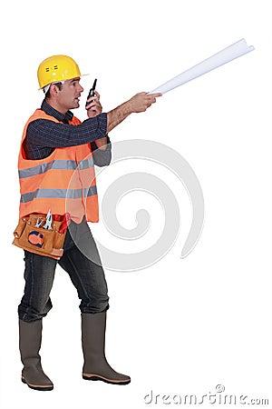 Bossy foreman