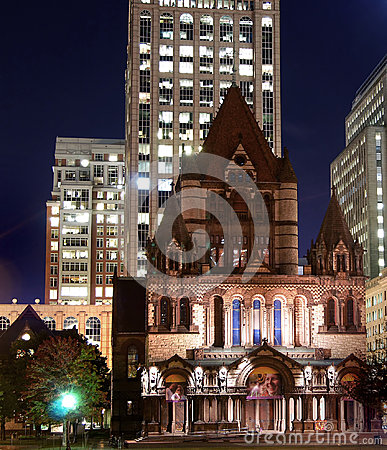 Boston Editorial Stock Image