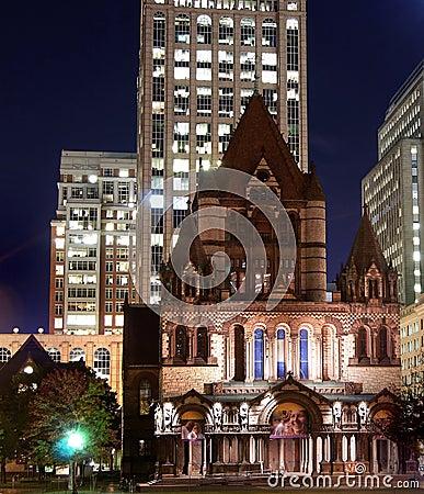 Boston Editorial Stock Image