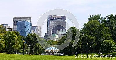 Boston Editorial Stock Photo