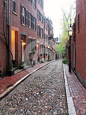 Boston - Acorn Street