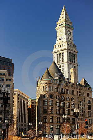 Boston Clock Tower, MA