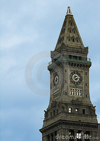 Boston Clock Tower, MA, USA