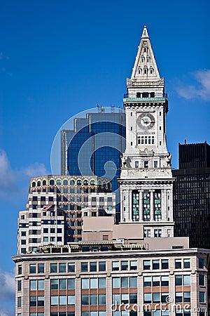 Boston Custom House Clock Tower
